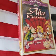 Walt Disney Alice in Wonderland VHS tape
