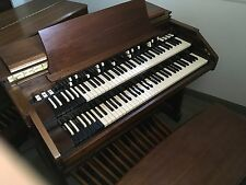 Hammond C3 Organ- 1955 Organ, Foot Pedals, and Bench (B3 in a church cabinet)