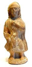 FIGURINE ROMAINE DE NOTABLE  100/300 AD- ANCIENT ROMAN TERRACOTTA SENATOR FIGURE
