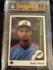 1989 Upper Deck Randy Johnson Rookie Bgs 9.5 Gem Mint!