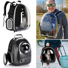 Outdoor Portable Pet Carrier Backpack Dog Cat Zipper Breathable Space Capsule