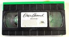 Once Around VHS Movie Promo Screener Copy