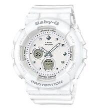 Casio Baby-G * BA125-7A Anadigi Style Studs Gloss White Women COD PayPal