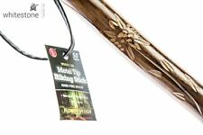 Hand Carved Walking Stick Hiking Hike Wood Wooden Cane Staff Trekking Poles 50""