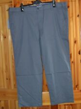 "MEN`S MARKS AND SPENCER COLLECTION  WFB LINEN TROUSERS 48"" WAIST 31"" LEG PUTTY"