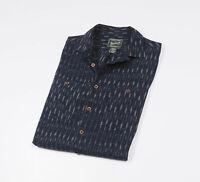 *** WOOLRICH *** Men's Blue short sleeved Casual Shirt Size Medium