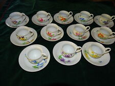 Meissen Cups - set of 10