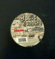 """GROOVEROBBERS feat DJ SHADOW / CHIEF XCEL 12"""" Solesides SS005 1996"""
