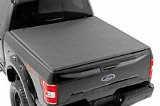 Rough Country Soft Tri-Fold (fits) 2015-2020 Ford F150 5.5 FT Bed |Tonneau Cover