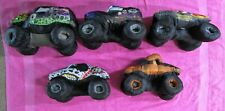 Monster Jam Mutt Zombie Maximum Destruction Son Uva Grave Digger Truck Plush Lot