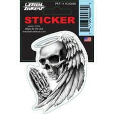 Lethal Threat Sticker Decal Anywhere Motorbike Helmet Boards Tablet IPad RC00080
