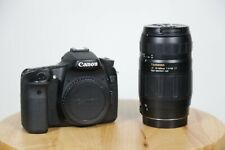Canon EOS 70D Bundle - Black - W/ Tamron Lens, H4N Zoom Recorder, and Case