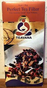 Teavana Perfect Tea Filter Small Mug 100 Loose Leaf Tea Filters Sealed Free Ship