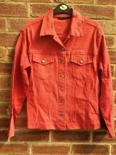 Miss Dynam Women / Girl 's Red Denim Jean Jacket Size S
