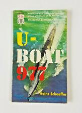 U-Boat 977 by Heinz Schaeffer 1952 Ballantine Paperback