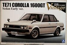 1979 Toyota Corolla Sedan 1600 GT TE71 JDM 1:24 Aoshima 008744
