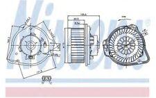 NISSENS Ventilador habitáculo VOLVO S70 V70 C70 87020