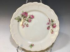 "Vintage Jaeger Germany Moss Rose Pattern Salad Plate 7 5/8""D"