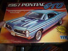 MPC 1967 Pontiac GTO MODEL CAR MOUNTAIN KIT 1/25 VINTAGE OPEN