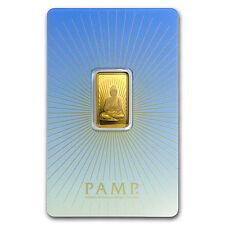 5 gram Gold Bar - PAMP Suisse Religious Series (Buddha) - SKU #94448