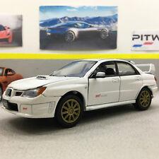 Subaru Impreza WRX STI White 1:24 Scale Die-Cast Model Car