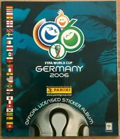 Panini World Cup Germany 2006 Empty Sticker Album