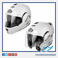 CASCO MODULARE AIROH FLIP-UP // CONVERT - REV COLOR WHITE - BIANCO LUCIDO