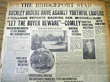 1925 newspaper w prohibition era headline LET THE BUYER BEWARE of illegal liquor