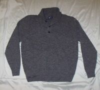 NWOT J Crew 100% Lambswool Sweater LARGE Shawl Collar