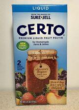 Sure Jell Certo Premium Liquid Fruit Pectin - 6 fl oz