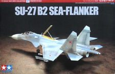 Tamiya 60757 1/72 Scale Model Aircraft Fighter Kit Sukhoi Su-27 B2 Sea-Flanker