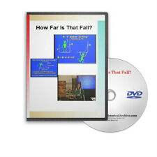 Personal Fall Safety Arrest System Explained OSHA Construction Training DVD C493