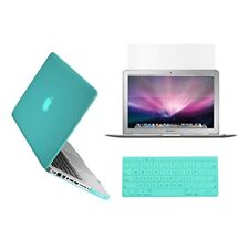 "3in1 TIFANY BLUE Crystal for Macbook Pro 15"" A1398 /Retina display+Key Cover+LCD"