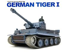 1:16 German Tiger I Heavy RC Tank 2.4GHz Smoke & Sound W/ Metal Gear & Tracks