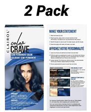 Clairol Color Crave Semi-permanent Hair Color 2 Pack-Indigo