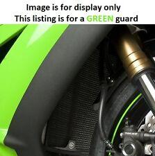 Kawasaki ZX10 R 2010 R&G Racing Radiator Guard RAD0068GR Green