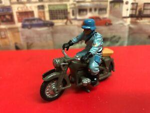 Britains BMW German Motorbike with rider die cast model