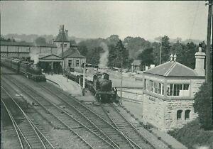 Torquay Station 1922 GWR Tank Locomotives BBC Hulton Library   Qi.895