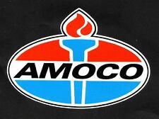 "AMOCO PETROL GAS ""LOGO"" SERVICE STATION PROMO VINYL DECAL STICKER Vespa"