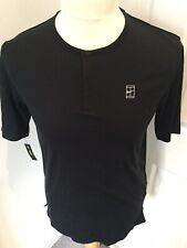Nike Court Crew Button Neck Tee-BNWT-Size-S (888287-010)