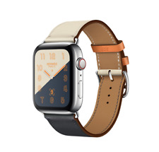 Apple Watch Series 4 Hermès Hermes 44mm Indigo/Craie/Orang Single Tour