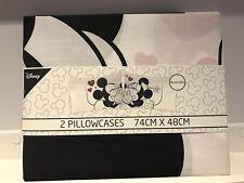 Disney Minnie & Mickey mouse Love Wedding Linen Pillow Case cover Home Decor