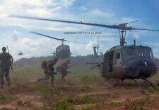 "UH-1D Helicopters airlifting U.S. Soldiers 13""x 19"" Vietnam War Photo Poster #15"