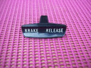 NEW 1960-62 Plymouth Dodge Desoto Chrysler Parking Park Brake Release Handle