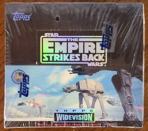 1995 Star Wars EMPIRE STRIKES BACK Widevision Cards Sealed Hobby Box 24 Packs