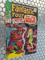 FANTASTIC FOUR #66 FIRST MARVEL APPEARANCE OF WARLOK(HIM)!  FN+!
