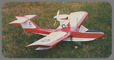 Air Skimmer Sport Scale Amphibian Seaplane Plans,Templates and Instructions 47ws