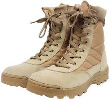 7204acd9e0d Zapatos Para Hombre Trabajo Militar Ejército Cadete Botas Desierto Combate  Patrol táctico Patrol