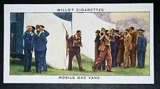 British Home Office Mobile Gas Vans   World War 11   1930's Vintage Card VGC