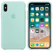 Marine Green GENUINE ORIGINAL Apple Silicone Case NEW iPhone X RRP $39